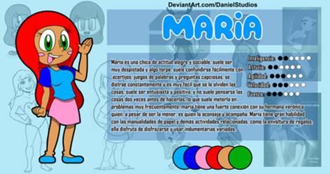 Maria .:Ref Sheet:.