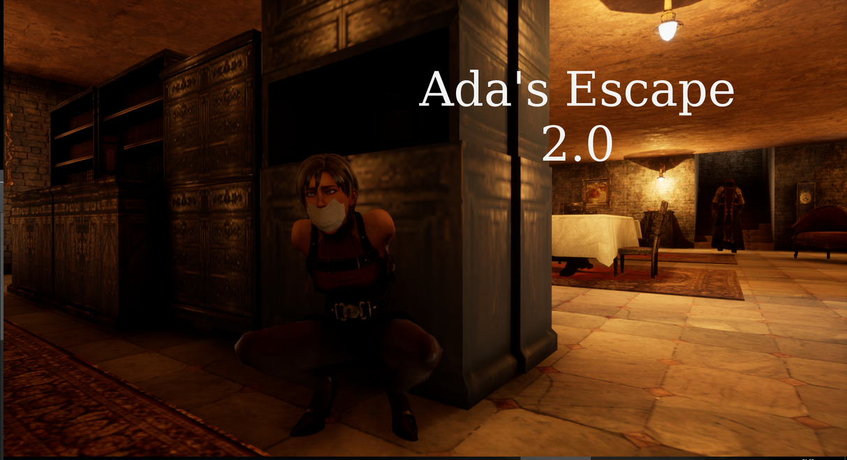 Ada's escape 2.0 (Stealth bondage action game) by ForAMouthfullOfBalls