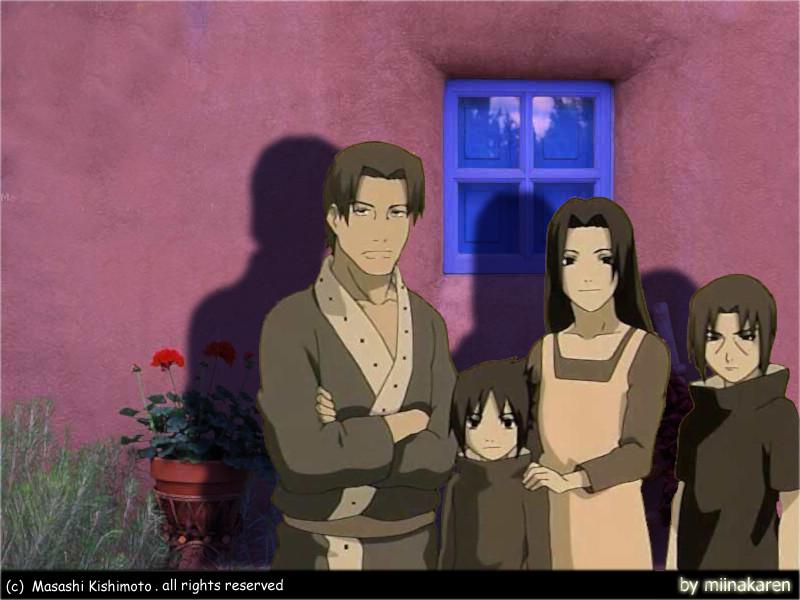 uchiha family by miinakaren  Uchiha Family Wallpaper