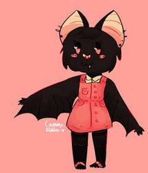 (closed!) anthro bat paypal adoptable