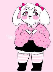 anthro bunny paypal adoptable (open)