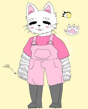 (open) kitty anthro paypal adoptable