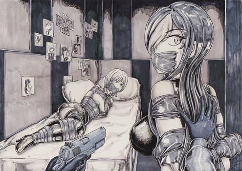 Kidnapper two girl
