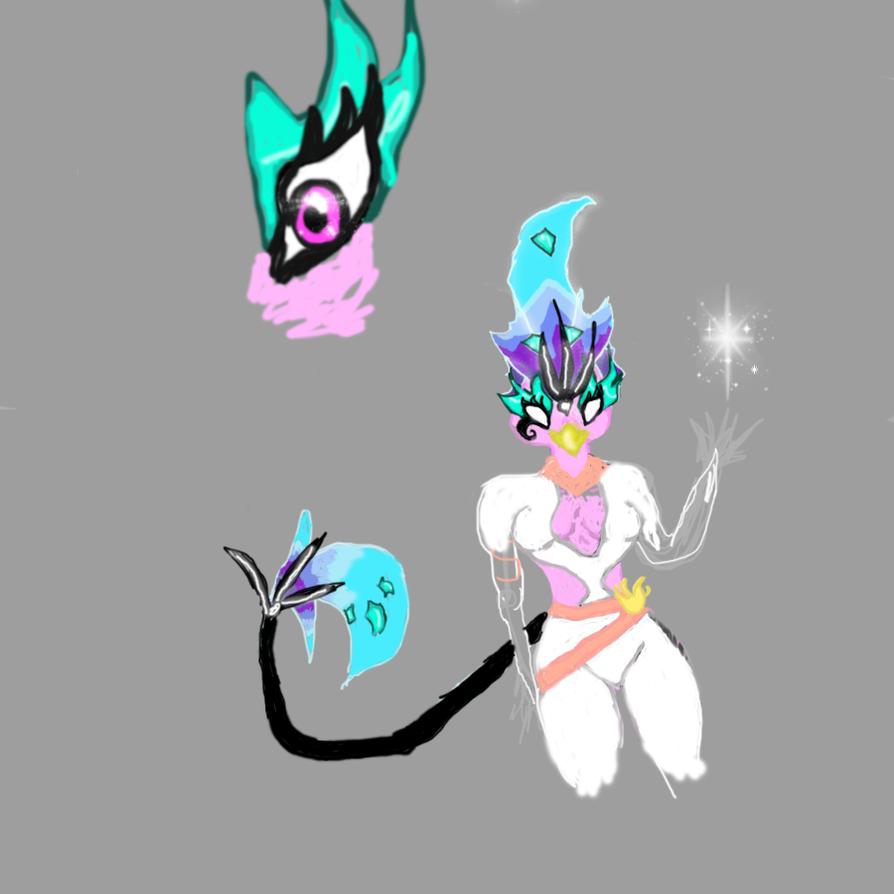 Guardian Phoenix- Trymera by Cosmic-Phoenyx