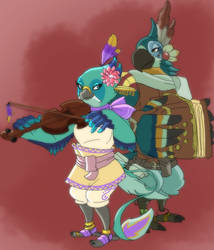 The Music of Cipha and Kass by Noe-Izumi