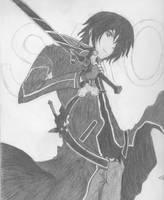 Kirito dark by KaitoToshiGirl