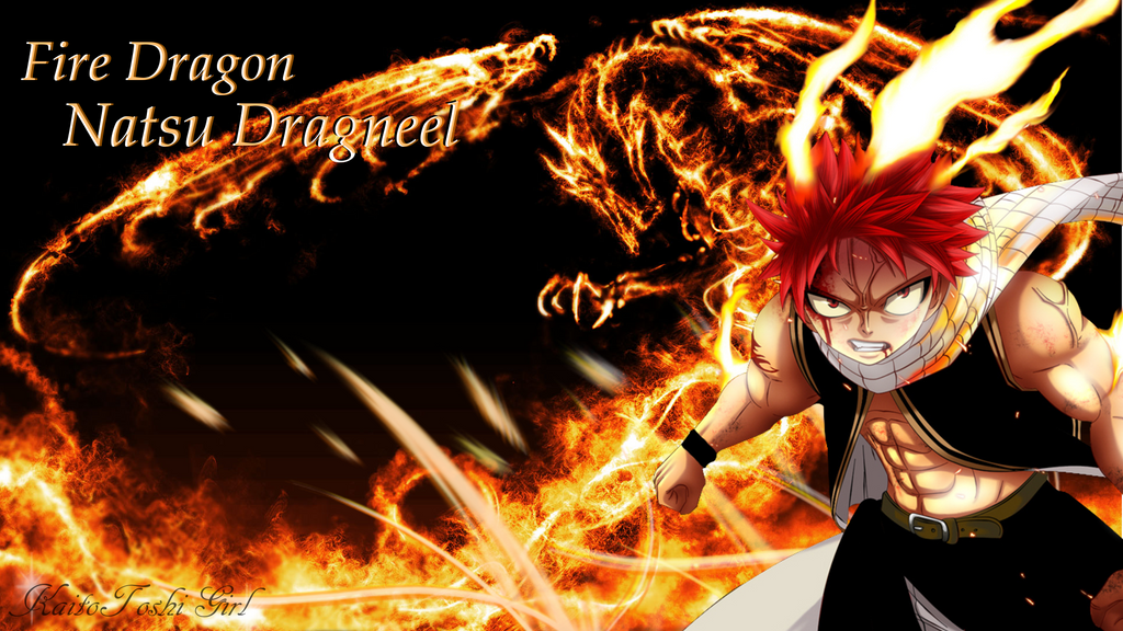 Fire Dragon Natsu Dragneel By KaitoToshiGirl