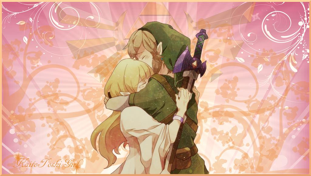 Link x Zelda by KaitoToshiGirl