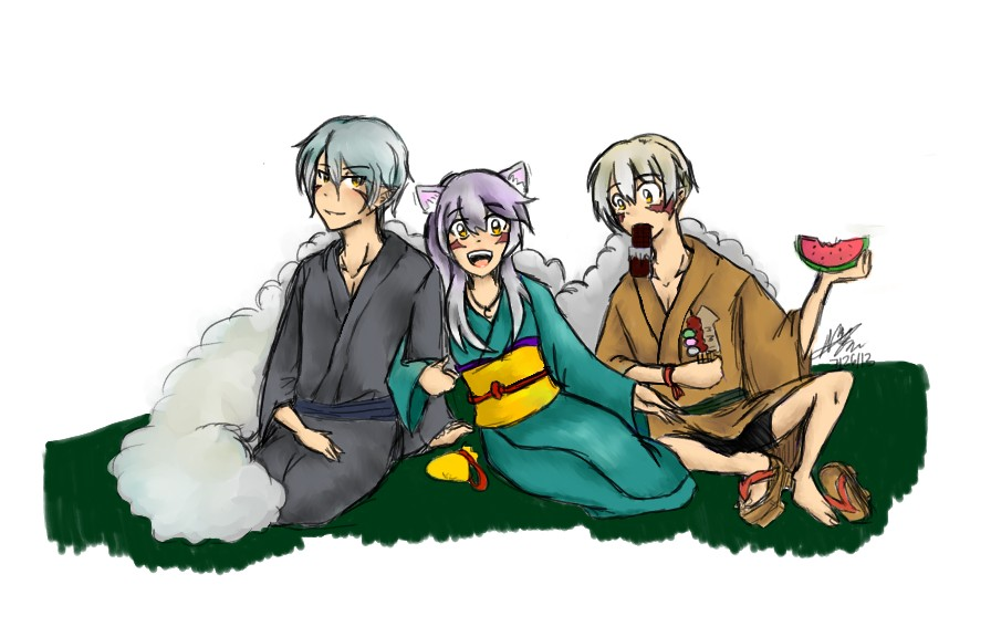 Inuyasha OCs by NorthGuam