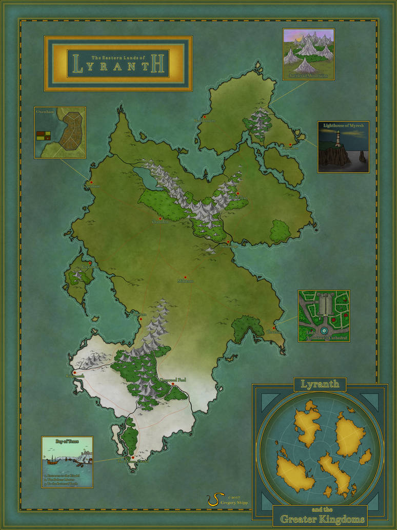 The Eastern Lands of Lyranth