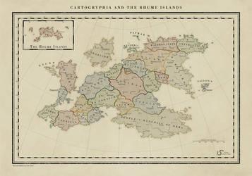 Cartogryphia and the Rhume Islands by Tangaboa
