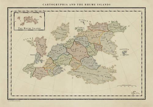Cartogryphia and the Rhume Islands