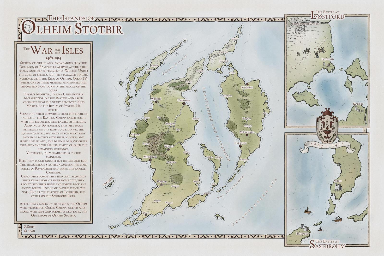The War of Olheim Stotbir