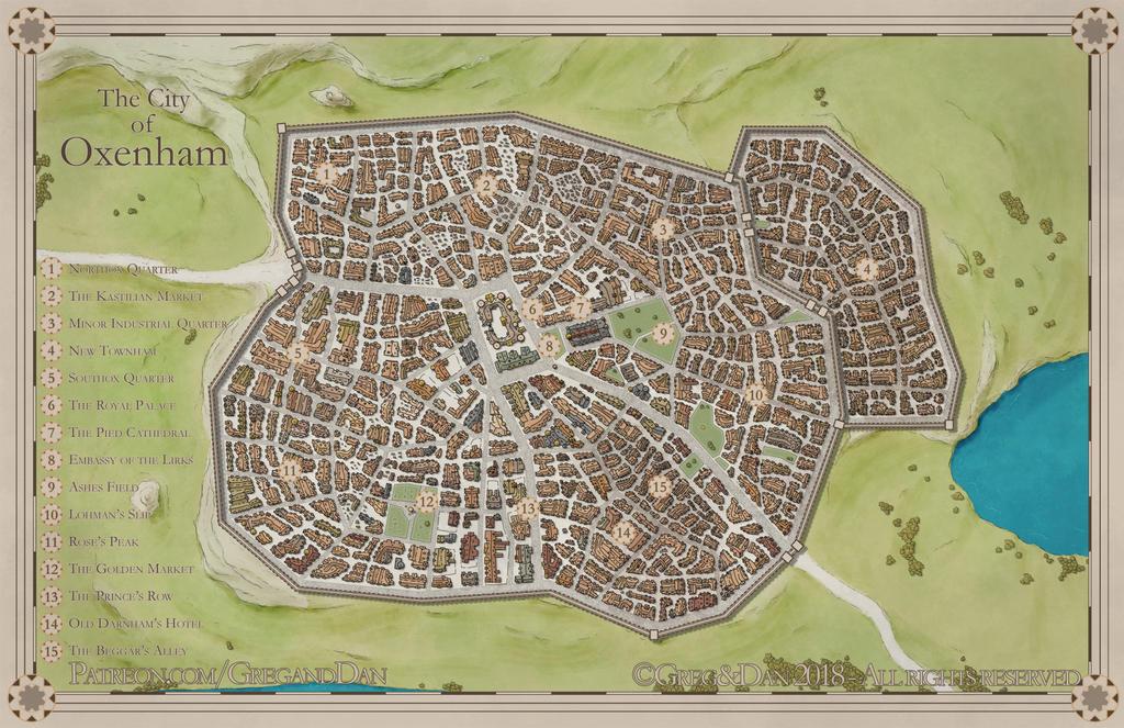 The City of Oxenham