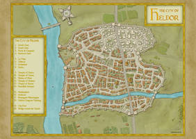 The City of Heldor by Tangaboa