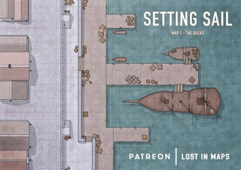 Setting Sail - The Docks