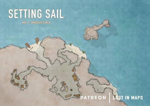Setting Sail - Smuggler's Arch