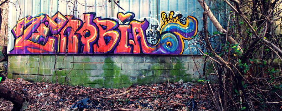 Zenobia Graffiti by aMorle