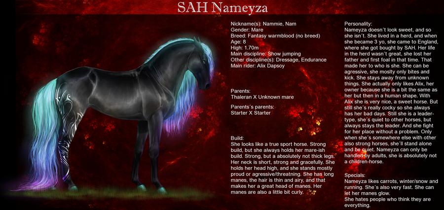 SAH Nameyza by Lunameyza