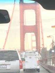 Crossing the Golden Gate Bridge on New Years Eve