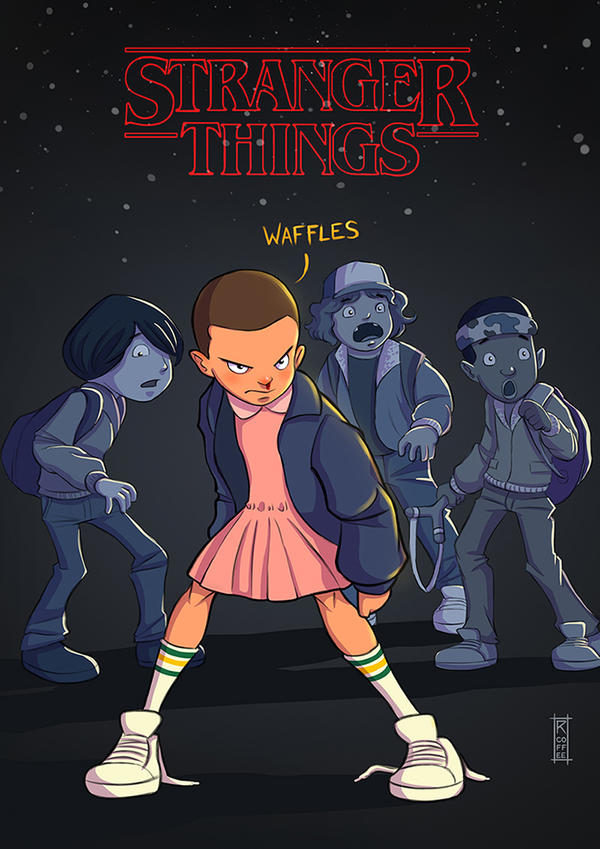 Stranger Things by RCoffee
