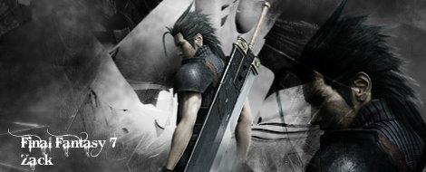 Final Fantasy 7 zack sig by AceZeroX