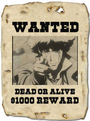 Spike wanted poster