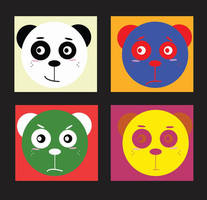 Pop Art Roy The Panda