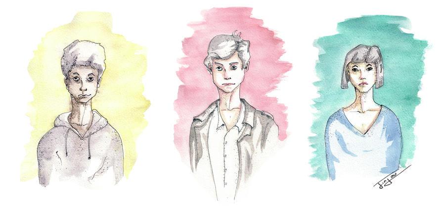 Faces by Jinjou