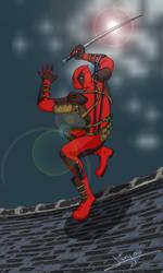 Deadpool by Jinjou