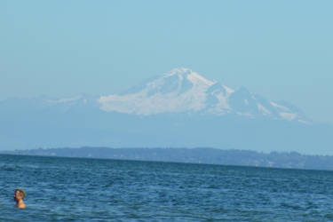 Mount Baker by Quazbut