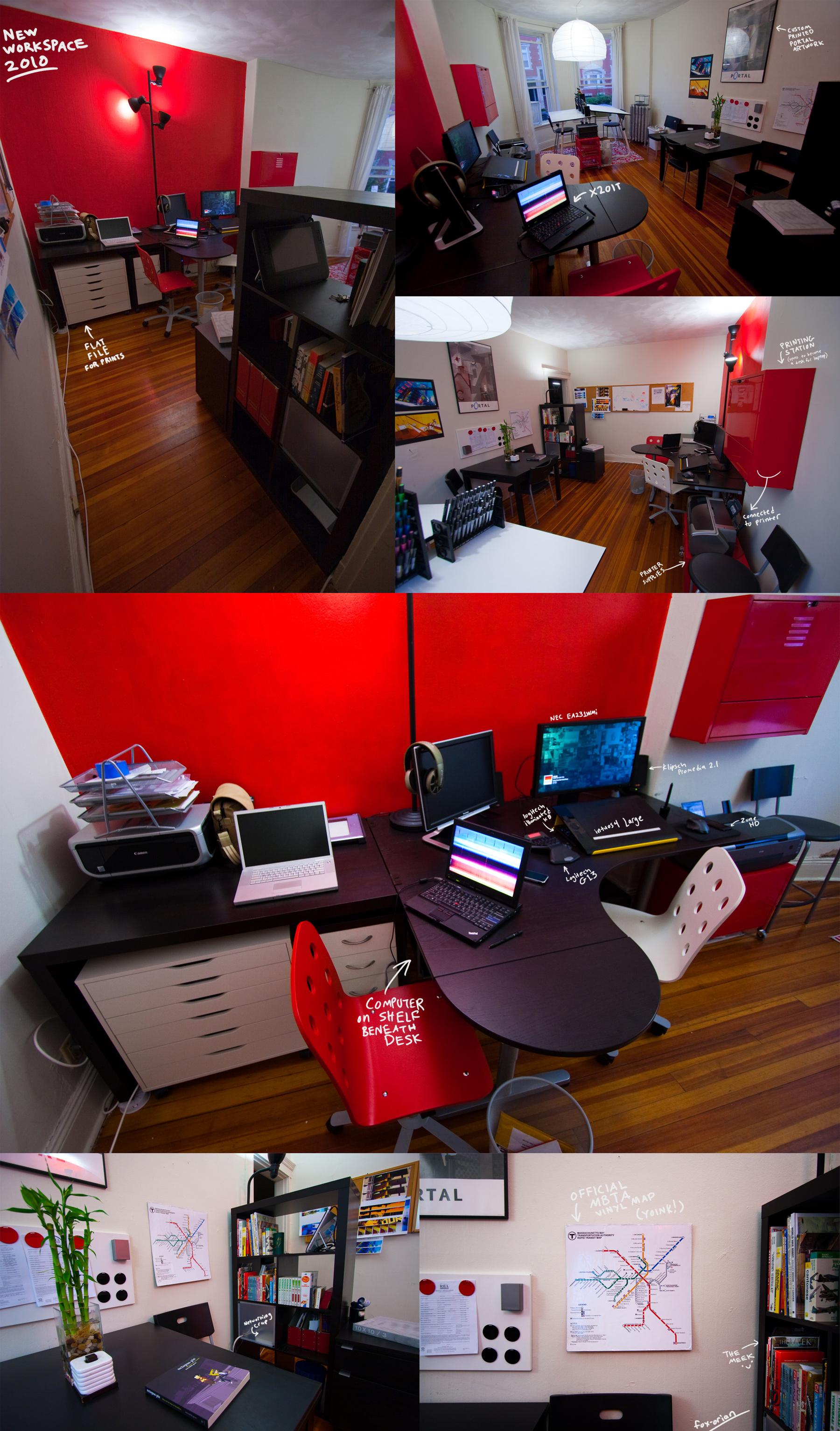 Studio Workspace 2010 by fox-orian
