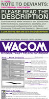 WACOM Starter Tablet Tips 2004