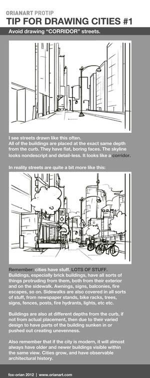 Drawing Cities 1 - Corridor Streets