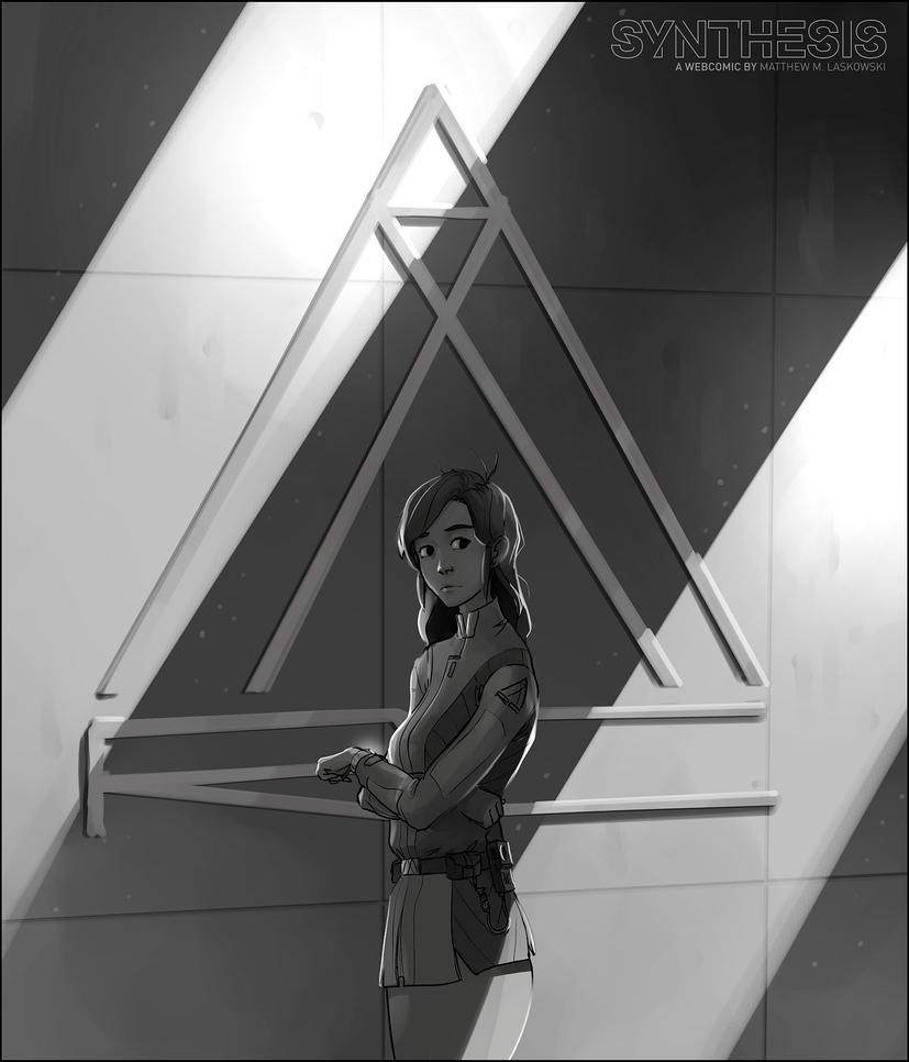 Jenna Aoris, ARC Precinct by fox-orian