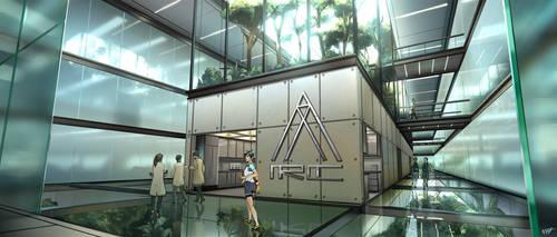 Aricee Radian Campus, Research Lab Atrium