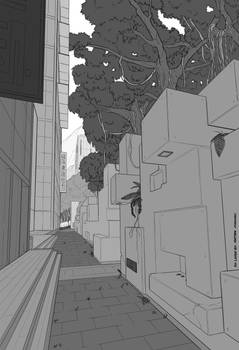 Background Layout: South Hills Alley