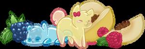 Squishy Jelly Babies o///o by Minigini