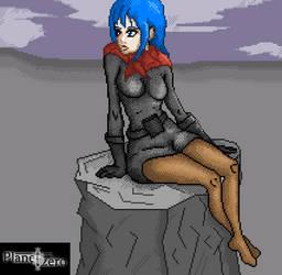 Girl Stone by PlanetTzero