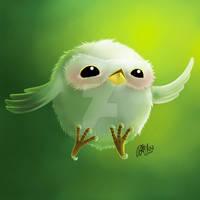 Cute owl by Drayuu