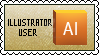 Illustrator User  STAMP by Drayuu