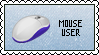 Mouse User STAMP by Drayuu
