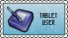 Tablet User STAMP by Drayuu