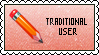 Traditional User STAMP by Drayuu