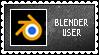 Blender User STAMP by Drayuu