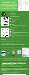 How to do a Lineart - Paint Tool Sai by Drayuu