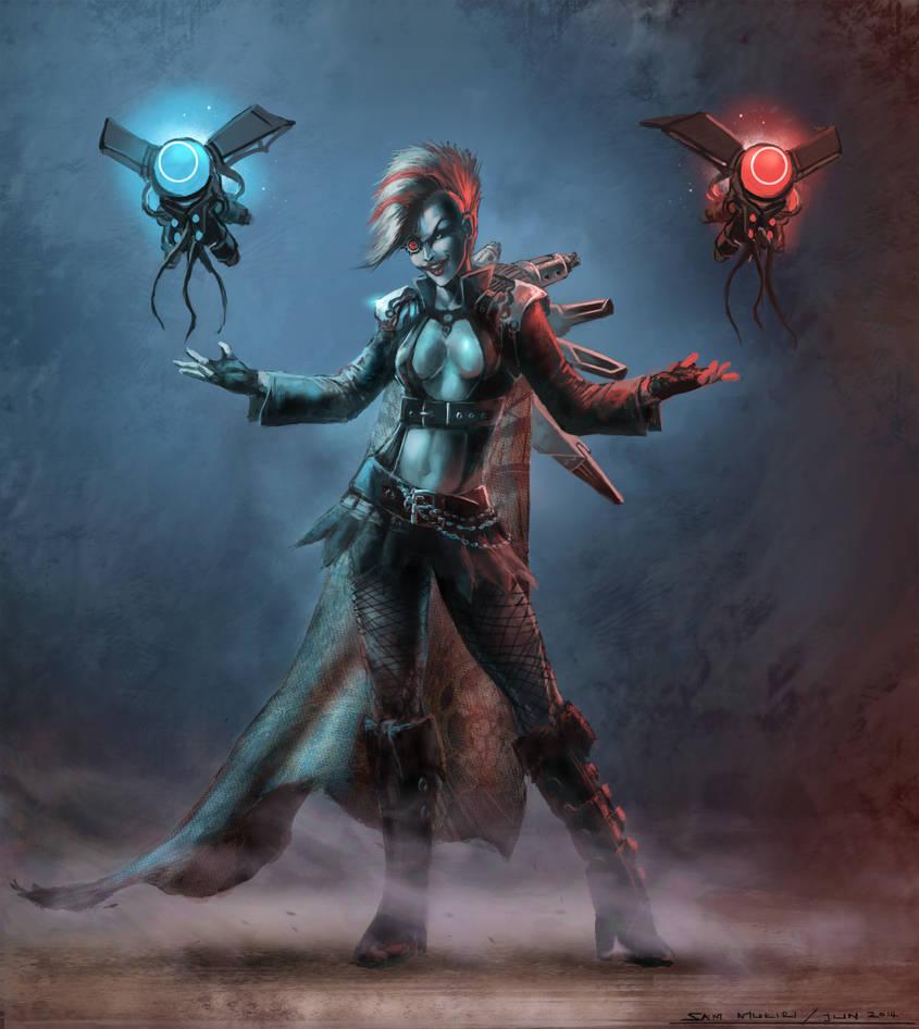 Cyber Punk Witch