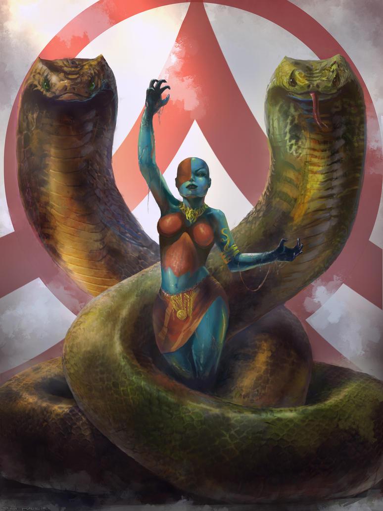 Venomous Witch Lv 2 by SamMuk1R1