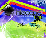Inkscape 0.48 Screen Contest by Keddec