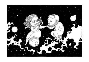 Mars and Venus by tanqueta